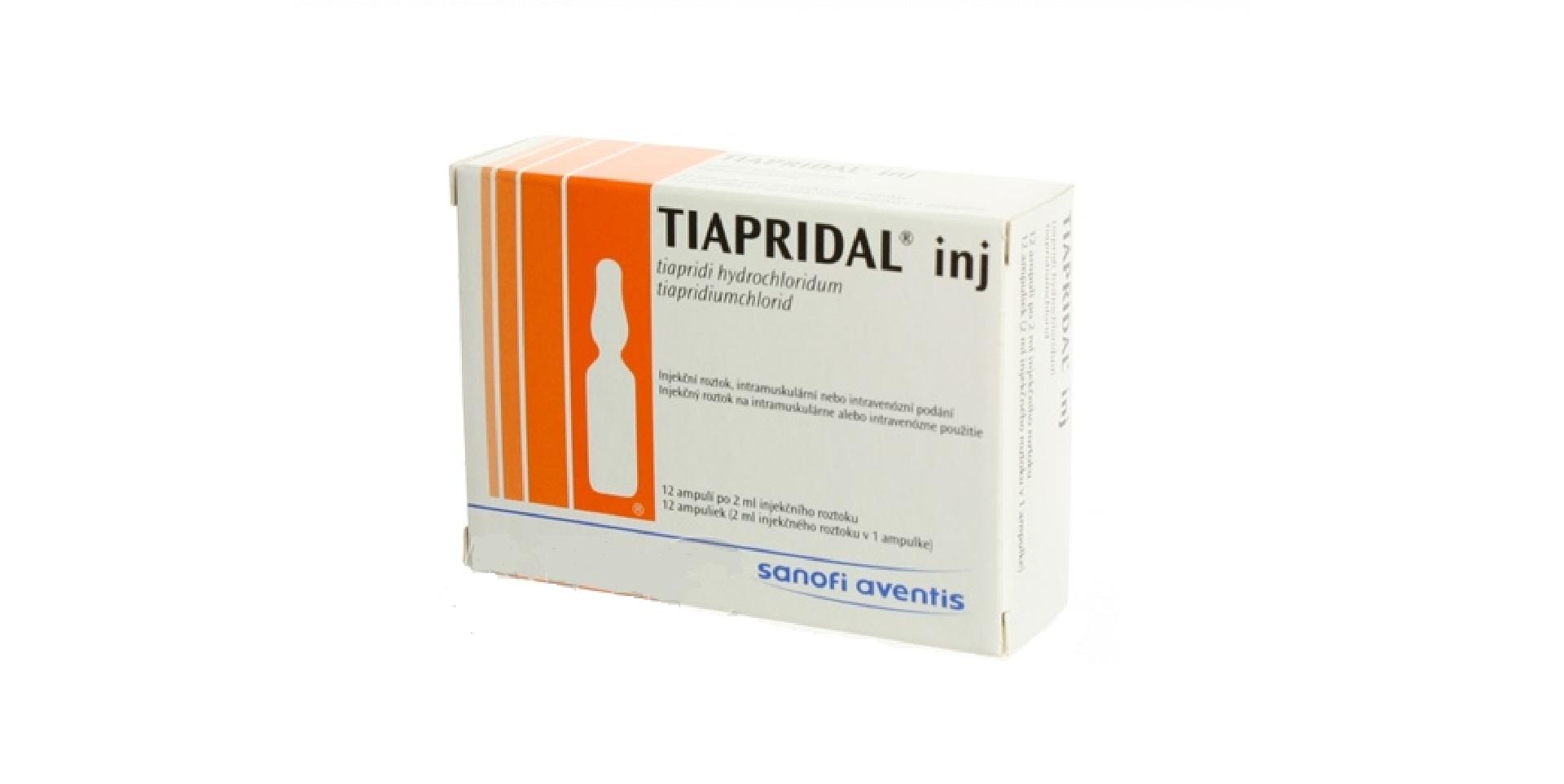 tiapridal injekce
